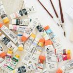 石塑粘土の着色方法