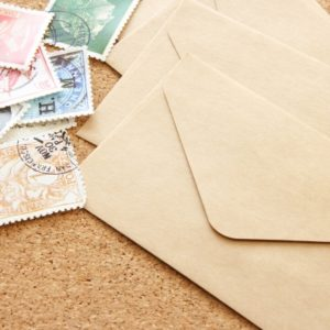 配送方法「定形外郵便」