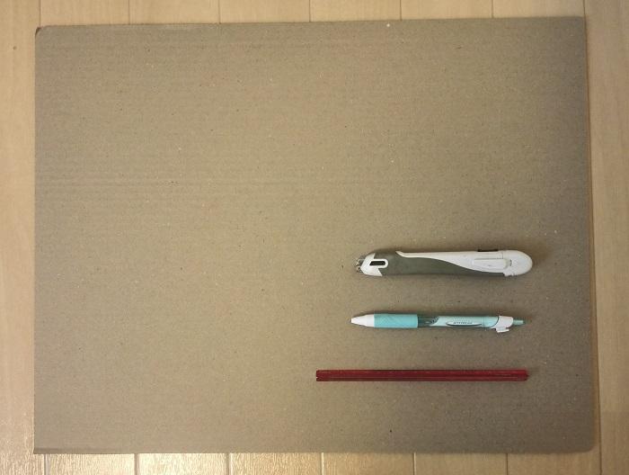 「厚さ測定定規」の自作に必要な道具