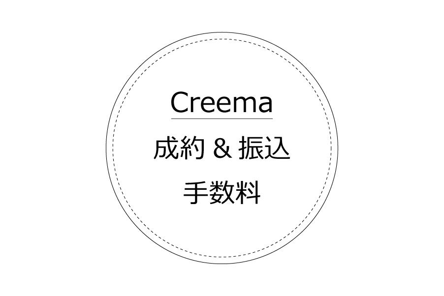 Creemaの成約手数料と振込手数料