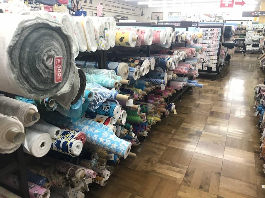 ヴィシーズ埼玉大井店の生地