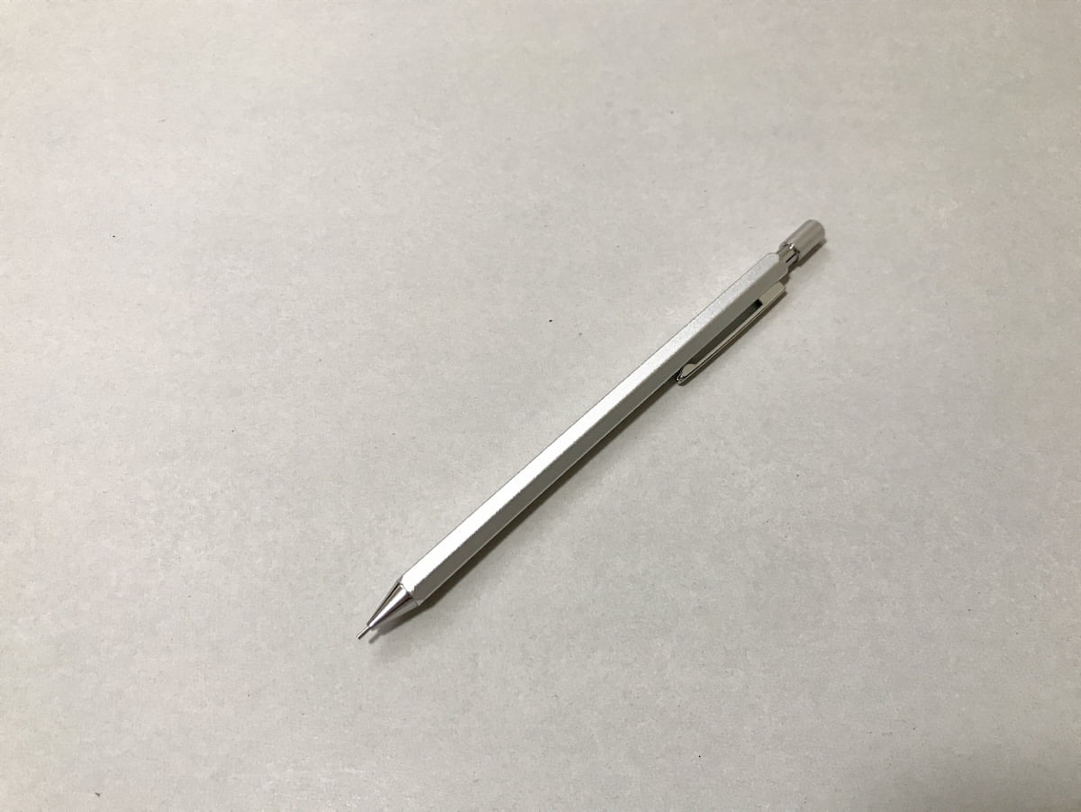 ダイソーのアルミ製シャープペン