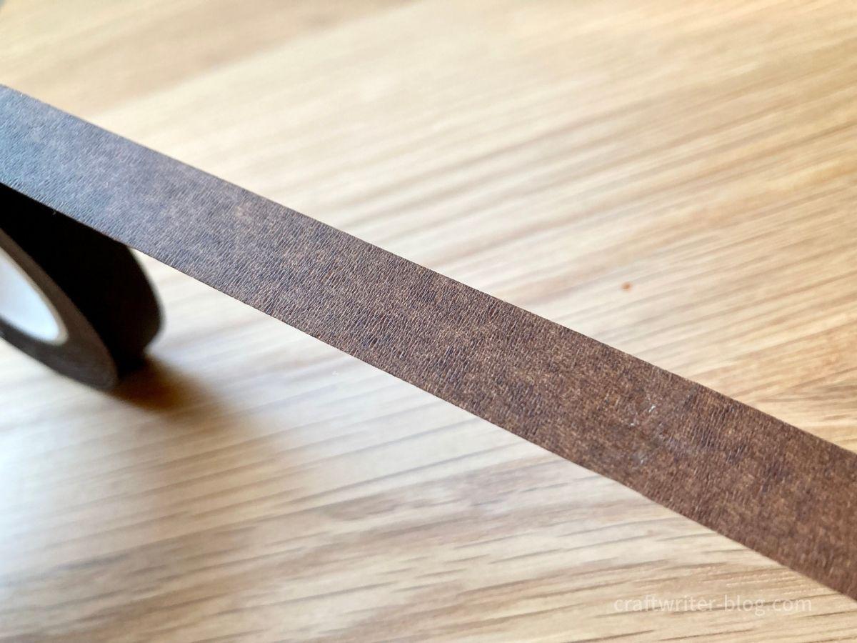 ダイソーのフローラルテープの幅